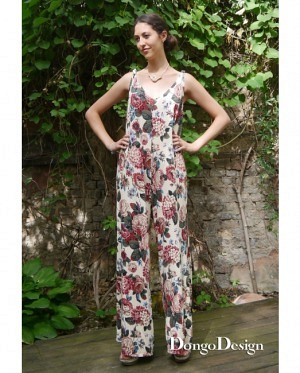 DongoDesign Jumpsuit Overall Sommerfreude