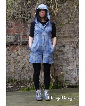 DongoDesign Jumpsuit Overall Eiszeit