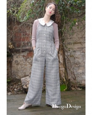 DongoDesign Jumpsuit Overall Sandra