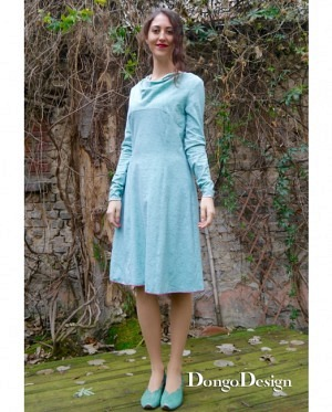 DongoDesign Jersey Kleid Marion