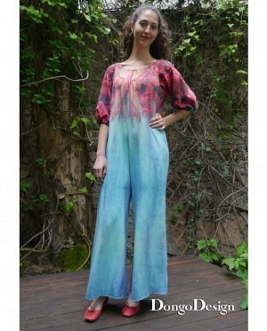 DongoDesign Jumpsuit Blue Moon