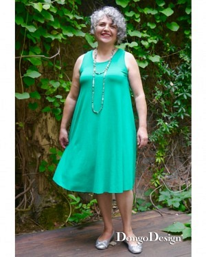 DongoDesign Jersey Kleid Amarena