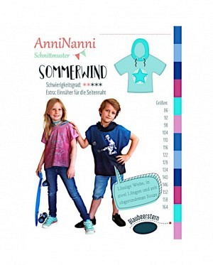 AnniNanni Sommerwind Kinder Shirt
