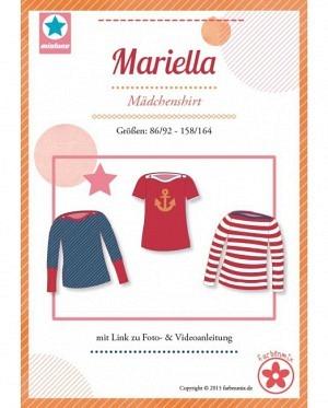 Farbenmix 0054 Mädchenshirt Mariella
