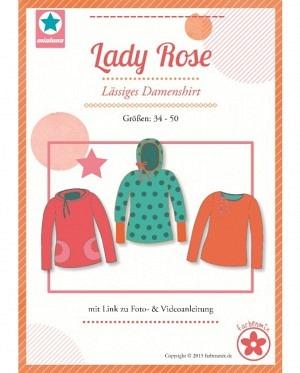Farbenmix 0056 Damenshirt Lady Rose