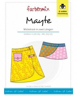 Farbenmix 0123 Mayte Wickelrock Damen