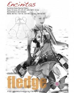 Farbenmix 0200 Blumiges Kleid Ecinitas