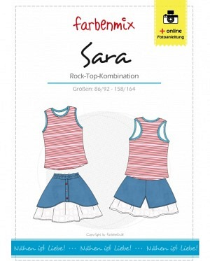 Farbenmix 0252 Sara Rock Top Kombination