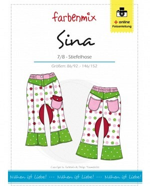 Farbenmix 0284 Sina 7/8 Hose