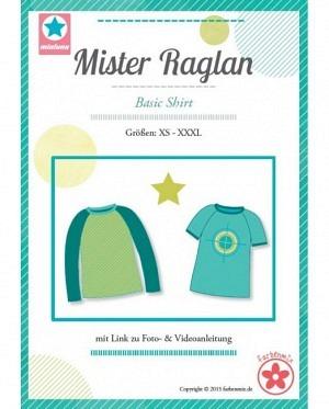 Farbenmix 0321 Mister Raglan Shirt Herren