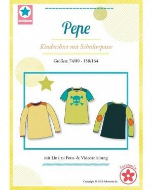 Farbenmix 0323 Pepe Kindershirt