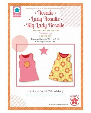 Farbenmix 0355 Rosalie, Lady Rosalie, Big Lady Rosalie