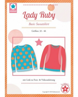 Farbenmix 0415 Sweatshirt Lady Ruby