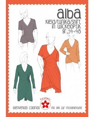Farbenmix 0420 Kleid Tunika Alba