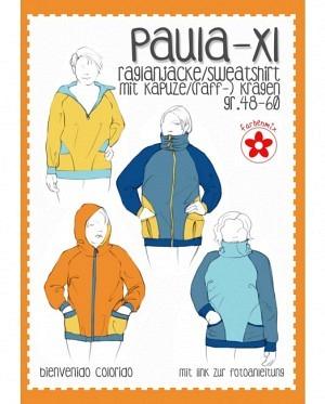Farbenmix 0433 Raglanjacke Paula XL