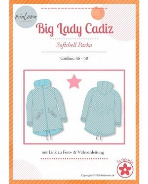 Farbenmix 0437 Softshell Parka Big Lady Cadiz