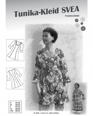 Farbenmix 0034 Tunika Kleid Svea