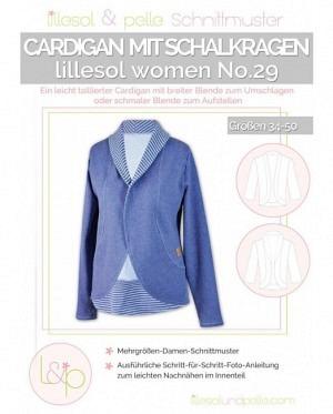 lillesol & pelle No.29 Cardigan mit Schalkragen SALE