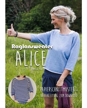 Prülla 1113 Raglansweater Alice