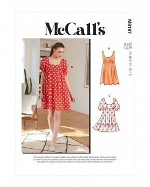 McCalls 8197