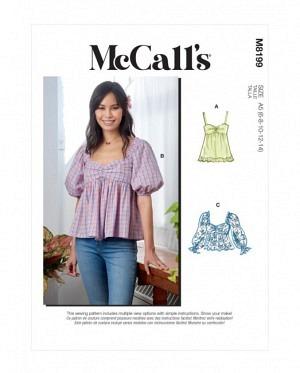 McCalls 8199