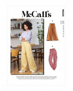 McCalls 8206