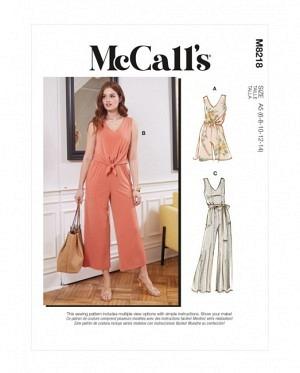 McCalls 8218