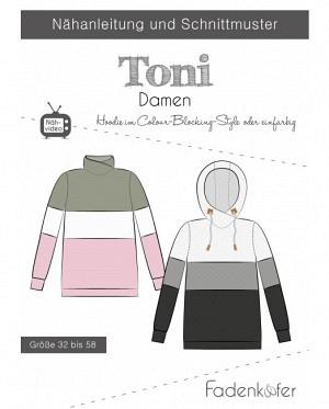 Fädenkäfer Shirt Hoodie Toni Damen