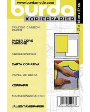 burda kopierpapier weiss/gelb