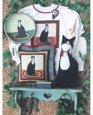 Country in the City Folkart Cat